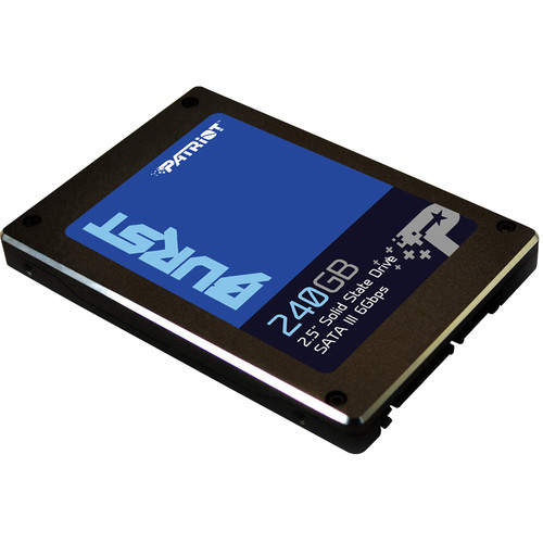 "Patriot 240GB Burst SATA III 2.5 ""SSD interno"