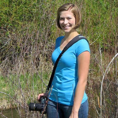 Choosing a cross-body camera strap
