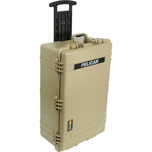 Pelican 1654 Waterproof 1650 Case with Yellow and Black Divider Set
