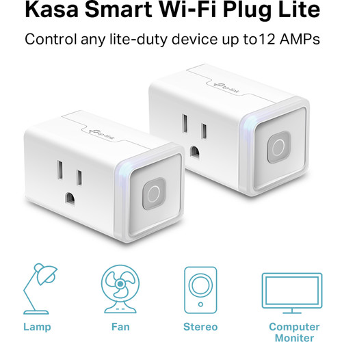 TP-Link HS103P2 Wi-Fi Smart Plug Lite (2-Pack)