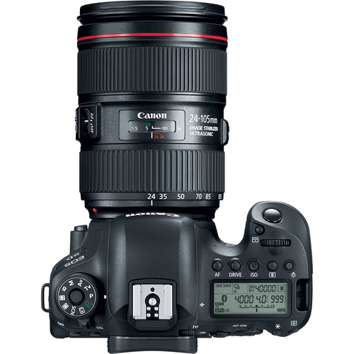 Canon EOS 6D Mark II DSLR Camera with 24-105mm f/4 Lens Basic