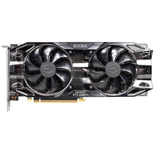 EVGA GeForce RTX 2080 Ti BLACK EDITION GAMING Tarjeta gráfica