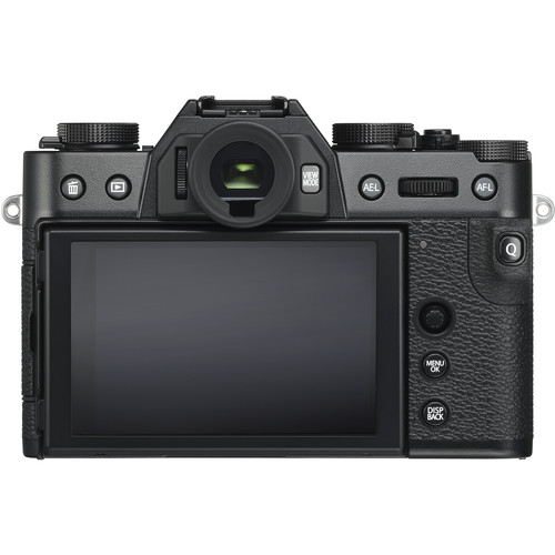 Rear View of the Fujifilm X-T30