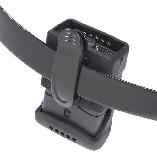 K-Tek KSCP1 Stingray Comtek Pouch with Lanyard (Black)