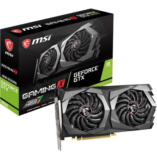 Tarjeta gráfica MSI GeForce GTX 1650 GAMING X