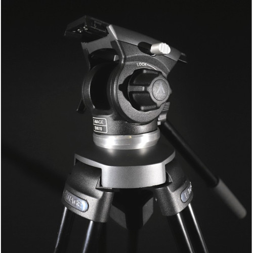 E-Image EK610 Professional Compact Tripod with Fluid Head (65mm)