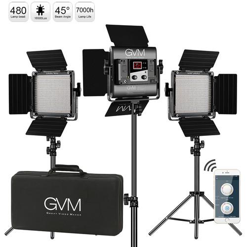 Mugast LED Video Light LED128B 3300//5600K Durable Camera Fill Light Plastic LED Video Lamp for SLR Mirrorless Camera CRI95