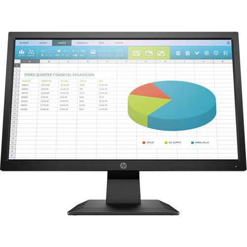 "Monitor LED HP P204 de 19,5 ""16: 9 TN (5RD65A8)"