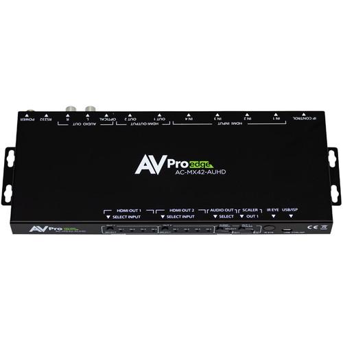 AVPro Edge 4 x 2 HDMI 4K Matrix Switcher