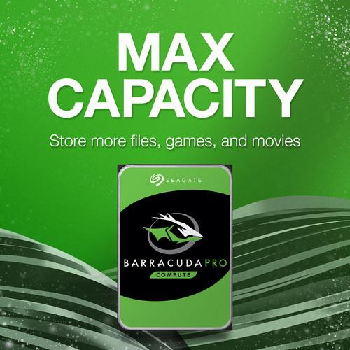 Seagate 4TB BarraCuda Pro 7200 rpm SATA III 3 5