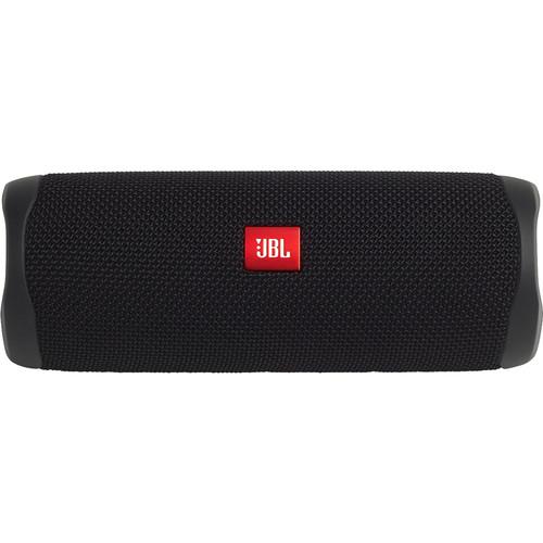 JBL Flip 5 Waterproof Bluetooth Speaker (Midnight Black)