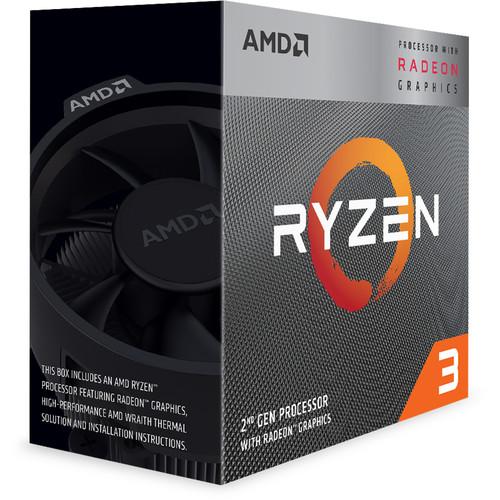 Procesador AMD Ryzen 3 3200G 3.6 GHz Quad-Core AM4