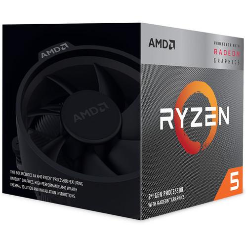 Procesador AMD Ryzen 5 3400G 3.7 GHz Quad-Core AM4