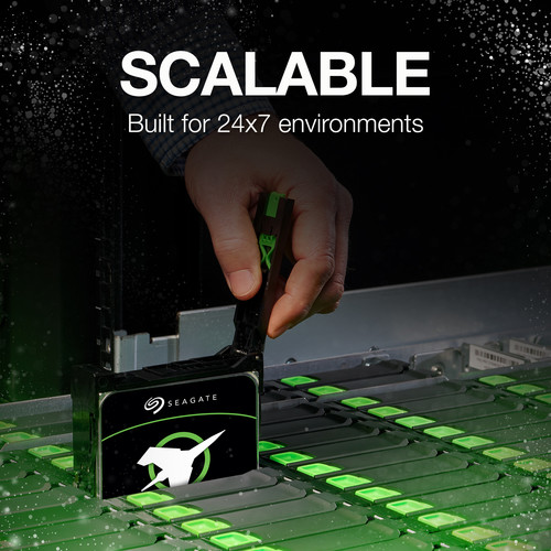 "Seagate 16TB Exos X16 7200 rpm SATA III 3.5 ""HDD interno"