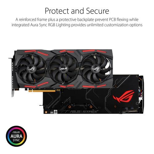 Tarjeta gráfica ASUS Republic of Gamers Strix Radeon RX 5700 XT OC Edition