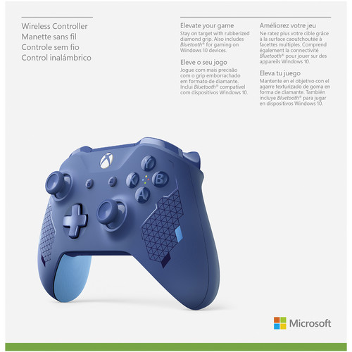 Microsoft Xbox One Wireless Controller Wl3 00145 B H Photo Video