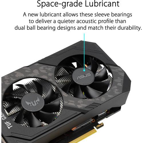 Tarjeta gráfica ASUS TUF Gaming GeForce GTX 1660 SUPER OC
