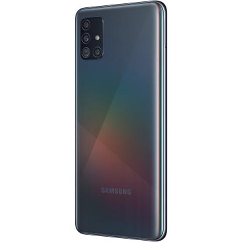 Samsung Galaxy A51 A515F Dual-SIM 128GB Smartphone (Unlocked, Prism Crush Black)