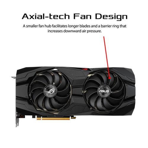 Tarjeta gráfica para juegos ASUS Republic of Gamers Strix Radeon RX 5500 XT