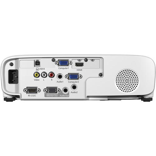 Proyector Epson PowerLite E20 XGA 3LCD de 3400 lúmenes