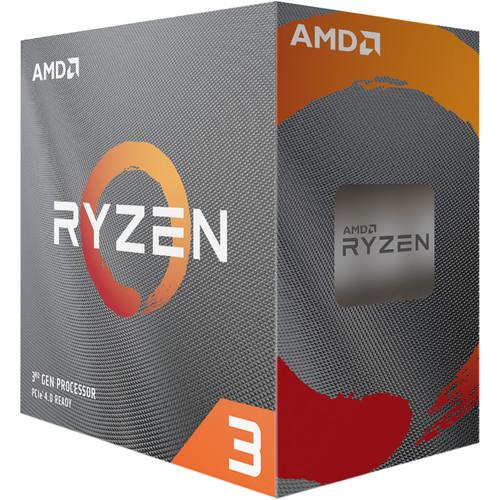 Procesador AMD Ryzen 3 3100 de cuatro núcleos AM4