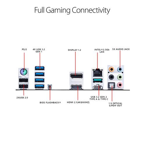 Placa madre ASUS TUF Gaming B550M-PLUS AM4 Micro-ATX