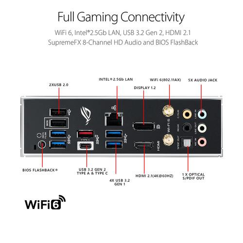 Placa base ASUS Republic of Gamers STRIX B550-F Gaming Wi-Fi AM4 ATX