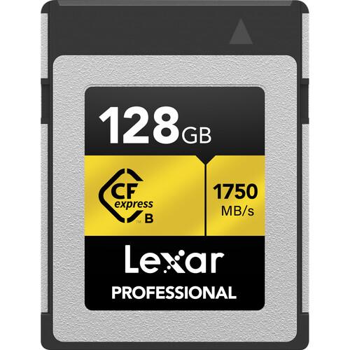 Lexar LCFX10-128CRBNA 128GB CompactFlash Memory Card