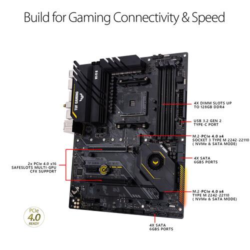 Placa base ASUS TUF Gaming X570-PRO Wi-Fi AM4 ATX