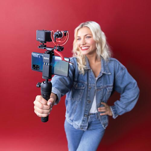 Rode Vlogger Kit Universal Filmmaking Kit for Smartphones with 3.5mm Ports 7