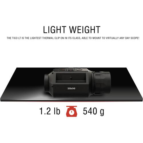 ATN TICO LT 320 Digital Thermal Clip-On (50mm Lens)