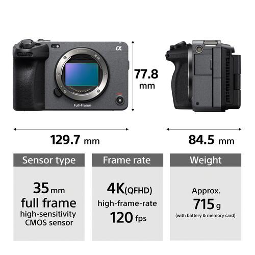 Sony ILME-FX3 4K全畫幅攝錄機