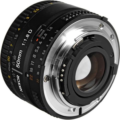Nikon Lens 50mm f/1.8D
