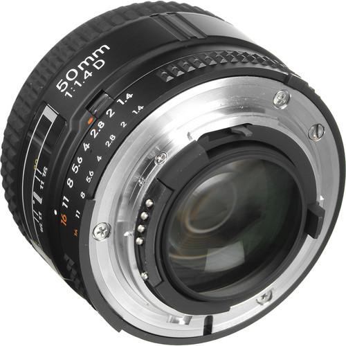 Nikon Lens 50mm f/1.4D