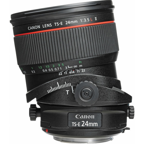 Canon TS-E 24mm f/3.5L II Tilt-Shift Manual Focus Lens
