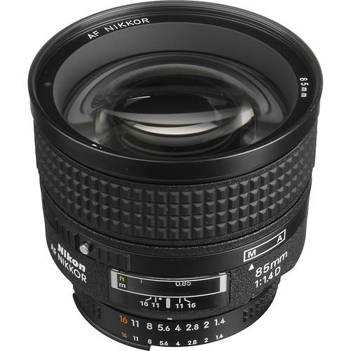 Nikon lens 85mm/1.4d