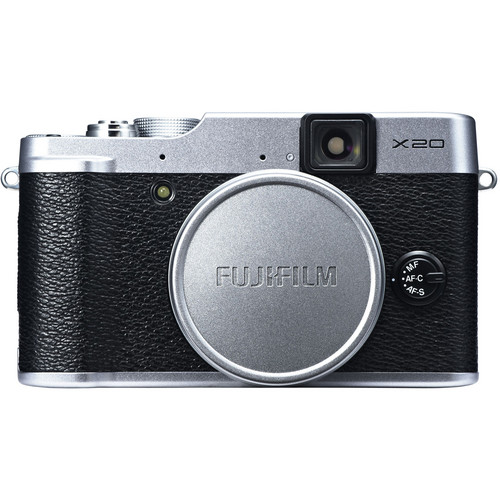 Fujifilm X20 - Front with lens cap view