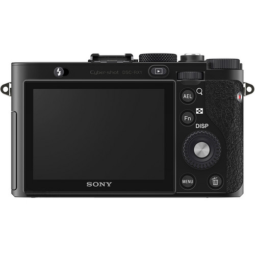 Sony Cyber-shot DSC-RX1R Digital Camera Rear View