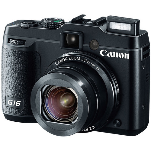 Canon Power Shot G16 Point-and-Shoot Camera