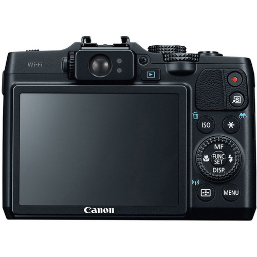 Canon PowerShot G16 Rear View