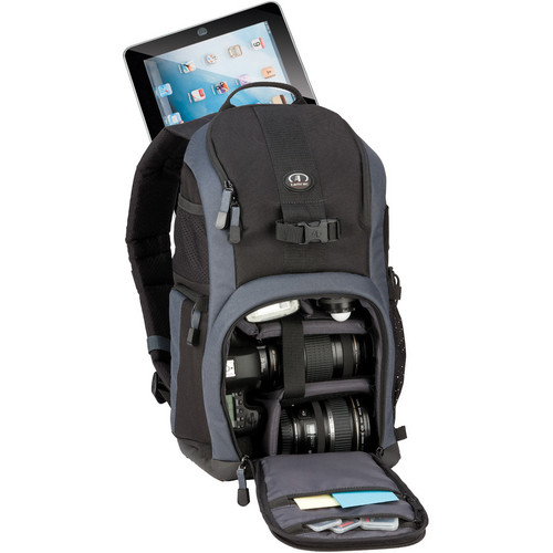 Tamrac Mirage 6 Photo/Tablet Backpack (Black/Gray)