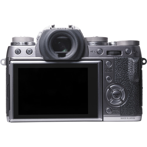 Fujifilm X-T1 (Graphite Silver Edition) - Rear View