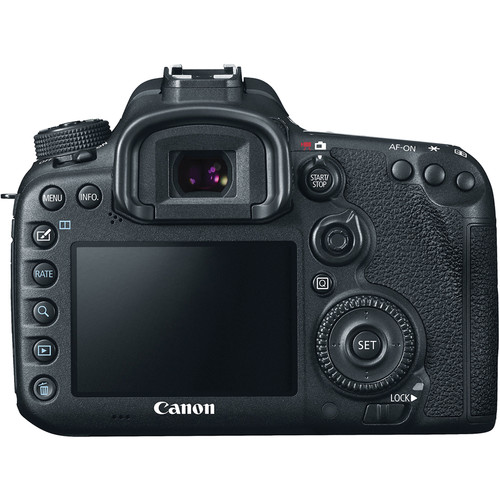 Woohoo - it's the 5D Mark III Rear Panel Layout