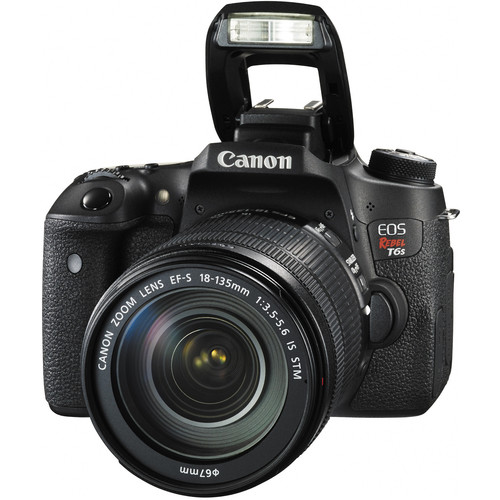 Canon EOS Rebel T6s DSLR Camera with EF-S 18-135mm f/3.5-5.6 IS STM Lens