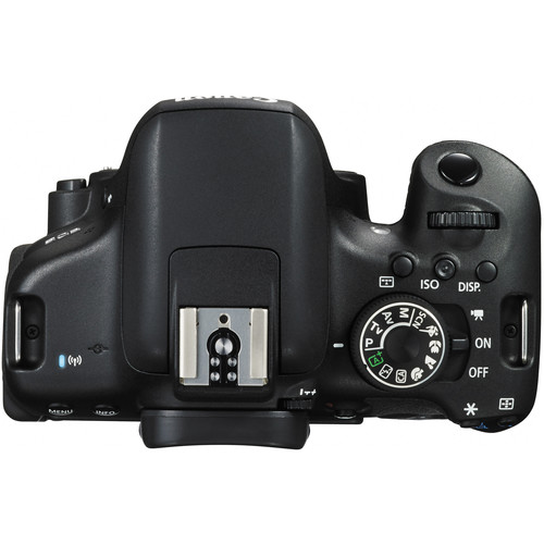 Canon EOS Rebel T6i DSLR Camera - Top View (NO Top LCD)