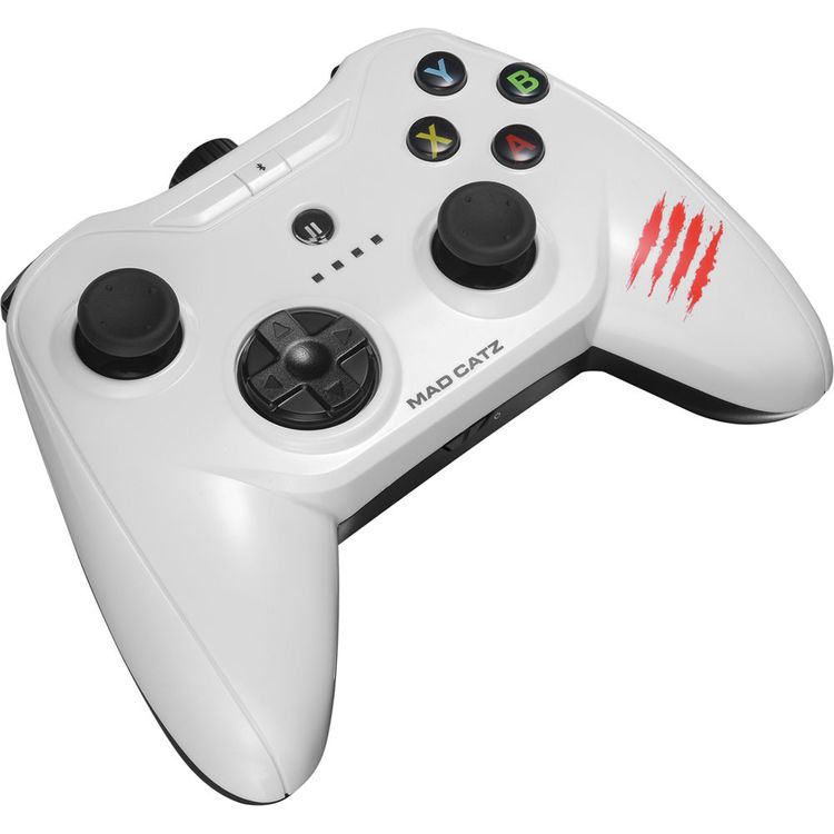 Mad Catz C T R L i Mobile Gamepad for iPod/iPhone/iPad (Glossy White)