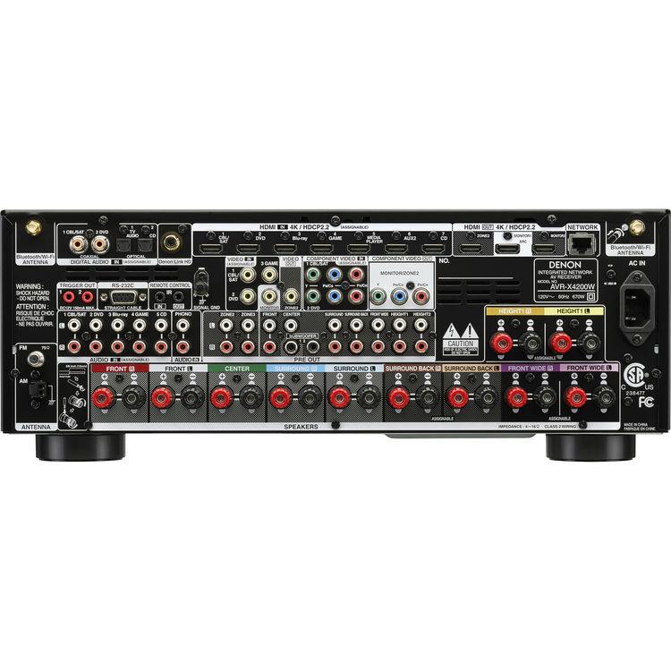 DENON AVRX4200W AVR-X4200W GENUINE CALIBRATION MICROPHONE *SHIPS TODAY*