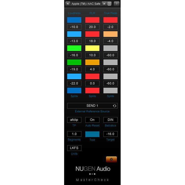NuGen Audio MasterCheck Visualizer Combo (Download) 11-33182 B&H