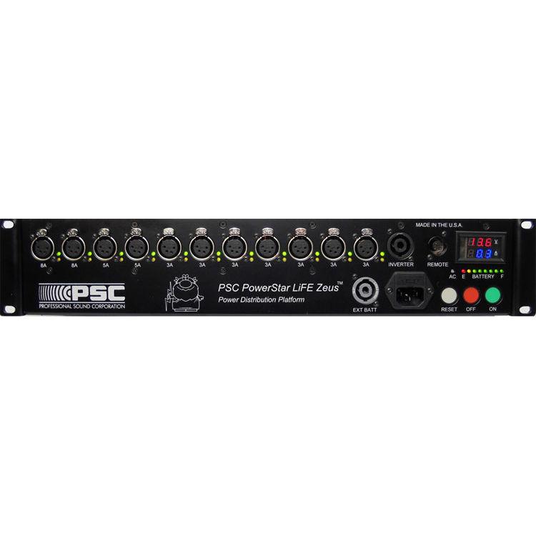 PSC PowerStar LiFE Zeus Rechargeable Power Supply