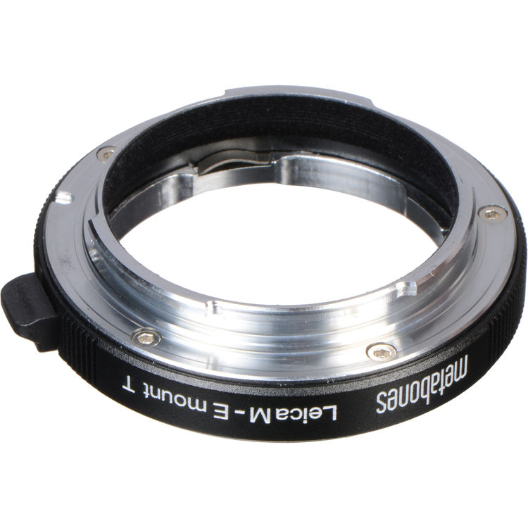 E-mount//NEX Adapter METABONES Lens Adapter compatible with Leica M and Sony E-mount Black Satin